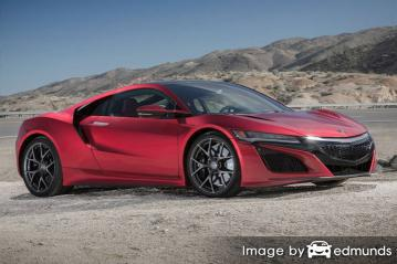 Insurance quote for Acura NSX in Oakland