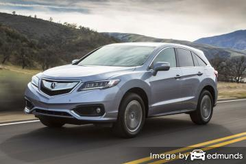Insurance rates Acura RDX in Oakland