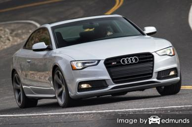 Insurance quote for Audi S5 in Oakland