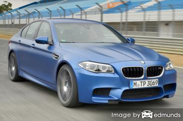 Insurance quote for BMW M5 in Oakland