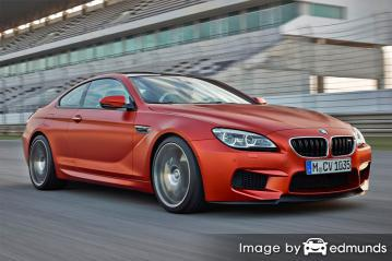 Insurance rates BMW M6 in Oakland