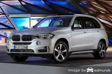 Insurance rates BMW X5 eDrive in Oakland