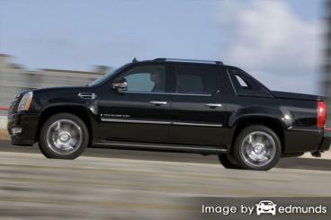 Insurance rates Cadillac Escalade EXT in Oakland