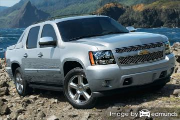 Insurance rates Chevy Avalanche in Oakland