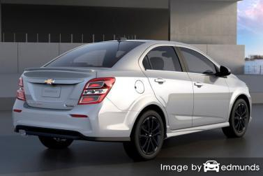 Insurance rates Chevy Sonic in Oakland