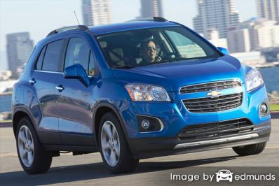 Insurance quote for Chevy Trax in Oakland