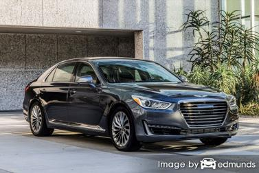 Insurance quote for Hyundai G90 in Oakland