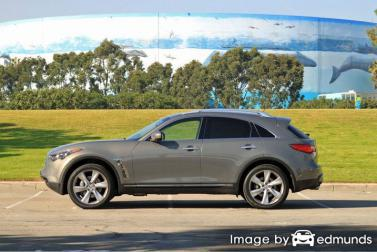 Insurance quote for Infiniti FX50 in Oakland