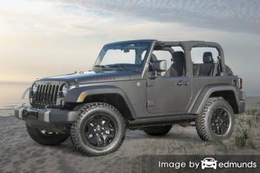 Insurance quote for Jeep Wrangler in Oakland