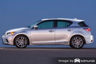 Insurance quote for Lexus CT 200h in Oakland