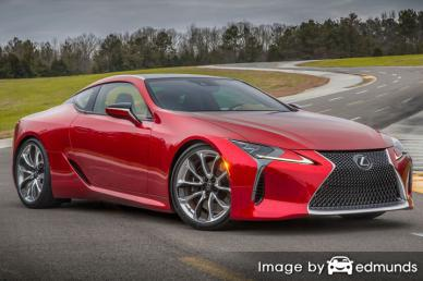 Insurance quote for Lexus LC 500 in Oakland