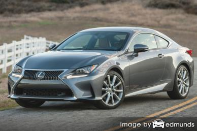 Insurance rates Lexus RC 300 in Oakland