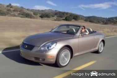 Insurance quote for Lexus SC 430 in Oakland