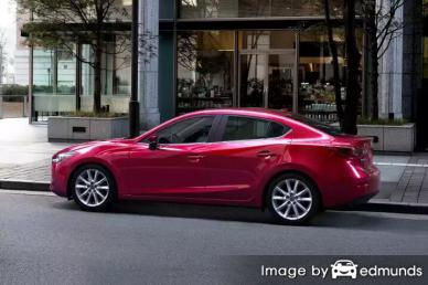 Insurance quote for Mazda 3 in Oakland