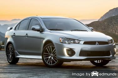Insurance quote for Mitsubishi Lancer in Oakland