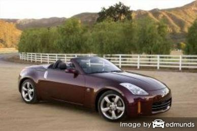 Insurance quote for Nissan 350Z in Oakland