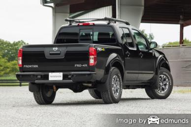 Insurance quote for Nissan Frontier in Oakland