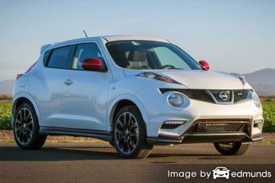Insurance rates Nissan Juke in Oakland
