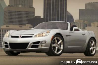 Insurance for Saturn Sky