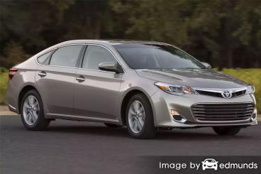 Insurance rates Toyota Avalon in Oakland