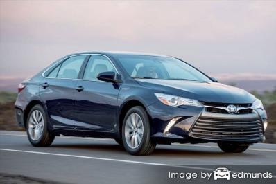 Insurance rates Toyota Camry Hybrid in Oakland