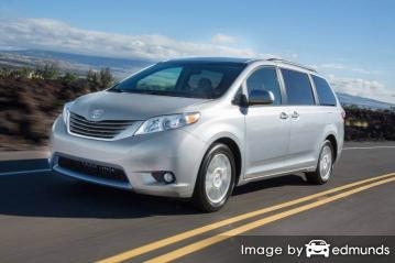 Insurance rates Toyota Sienna in Oakland
