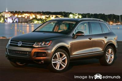 Insurance rates Volkswagen Touareg in Oakland